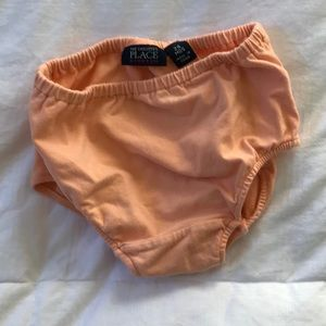 Children's place bloomers 24 mo tangerine
